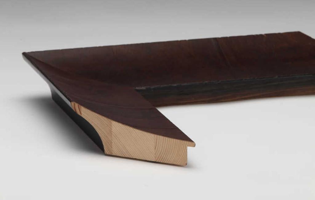 Olive Veneer Timber | Print Decor | Side View