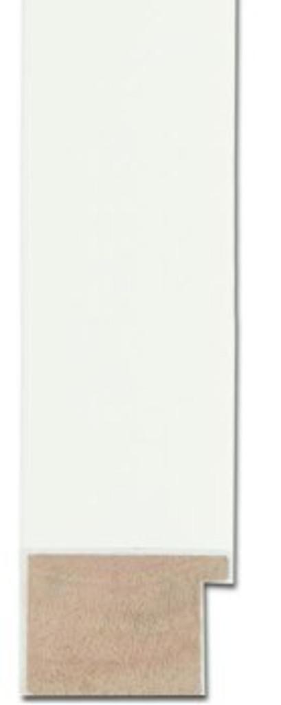 MODERN SIMPLE WHITE FRAMED MIRROR | Sample