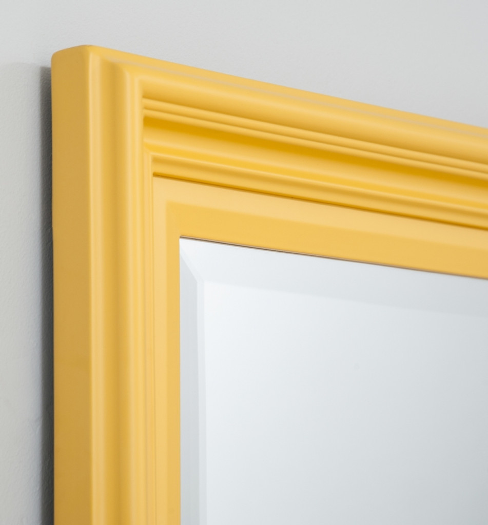 Fiona Mirror, Detail |  Soft Yellow | Print Decor Melbourne