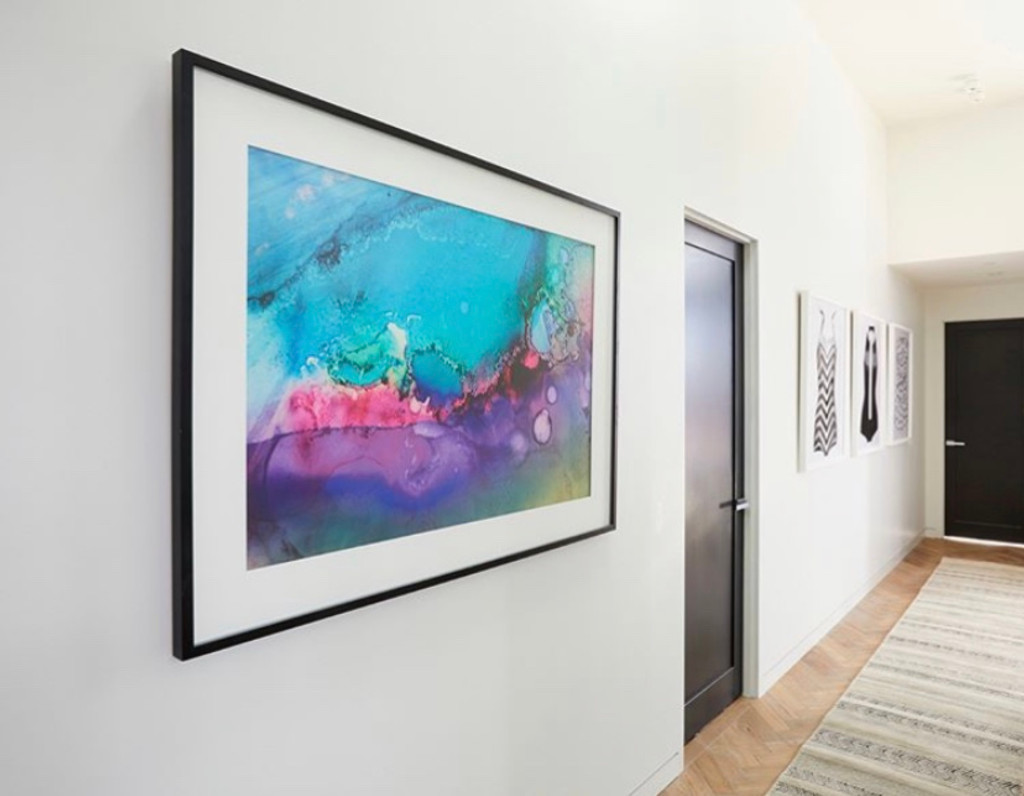Drifting III featured in Bianca and Carla's apartment on The Block 2018