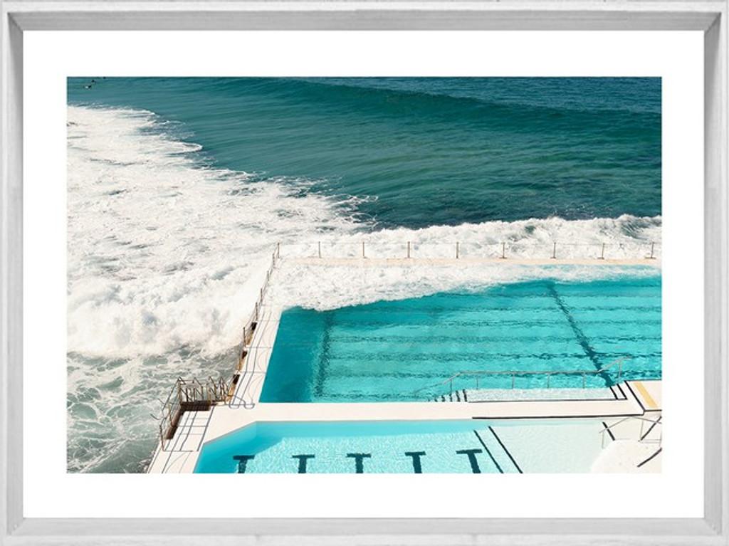 Beautiful Australian Seaside Framed Print | Sydney Vs Melbourne