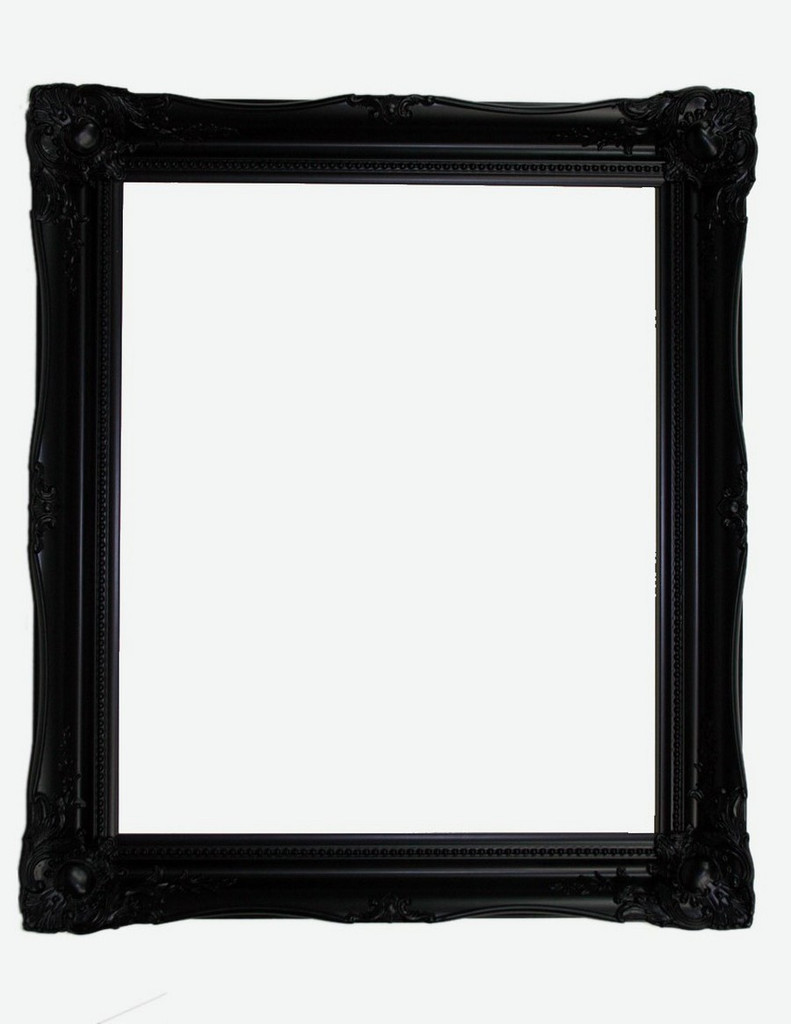 Empty Frame Contessa Black