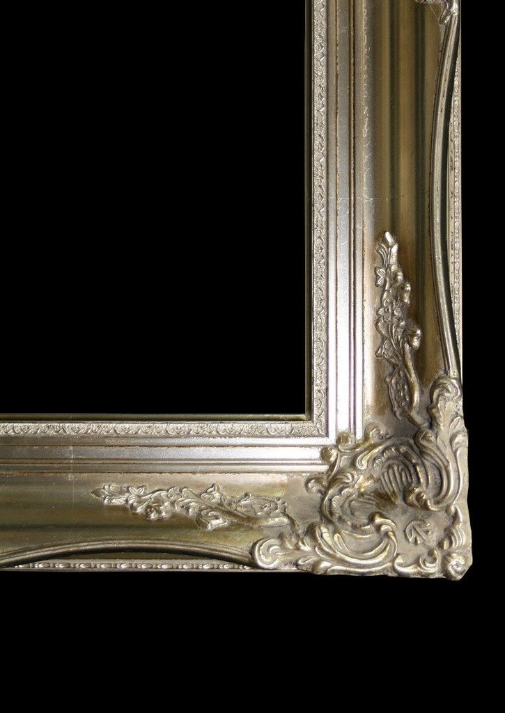 Empty Frame Imperial Silver | Detail | Print Decor