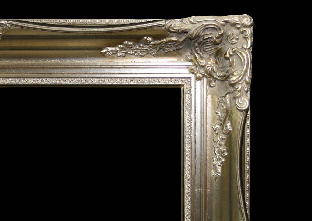 Empty Frame Imperial Silver | Detail 2 |Print Decor
