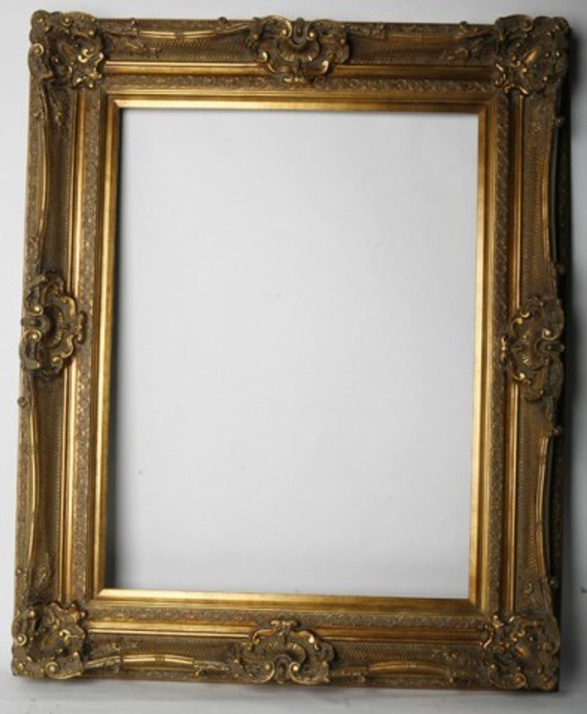 Empty Frame Grand Ornate Gold