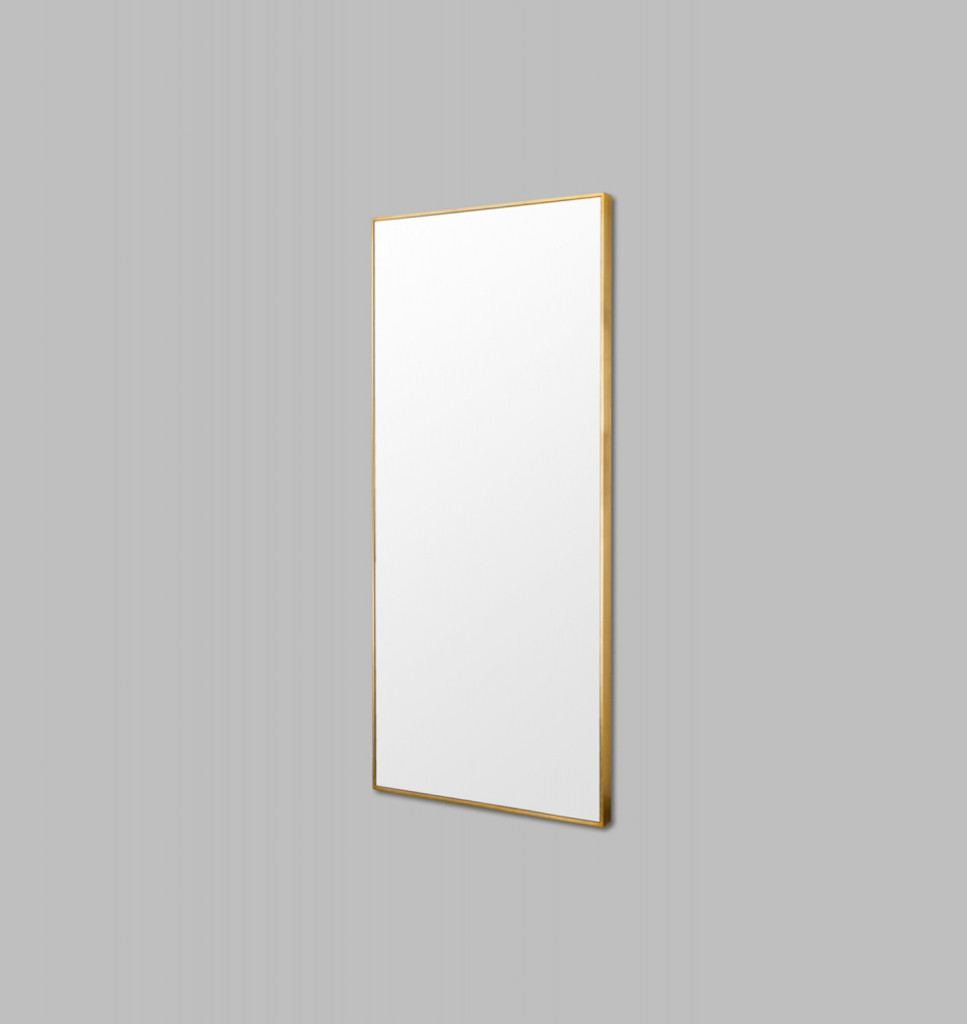 90 x 180 cm | Brass | Side view
