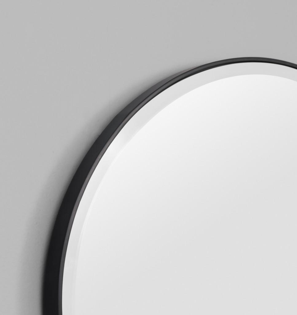 Print Decor | Lolita Oval | Black | Detail