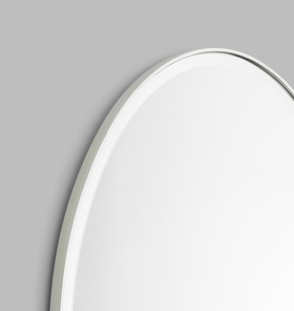 Print Decor | Lolita Oval | Silver | Detail