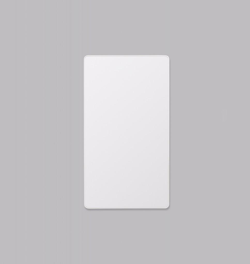Errol Curved Bright White | Print Decor