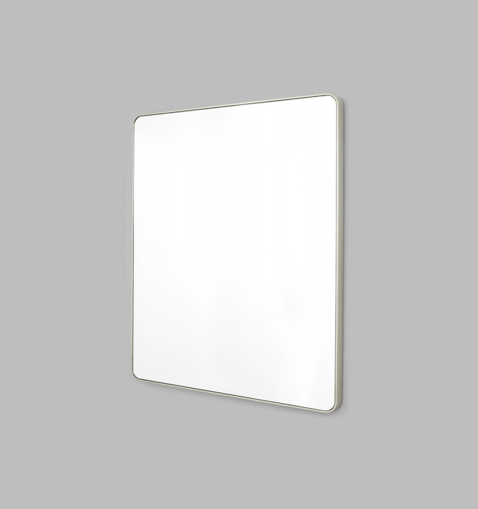 Errol Rectangle Curved   Silver