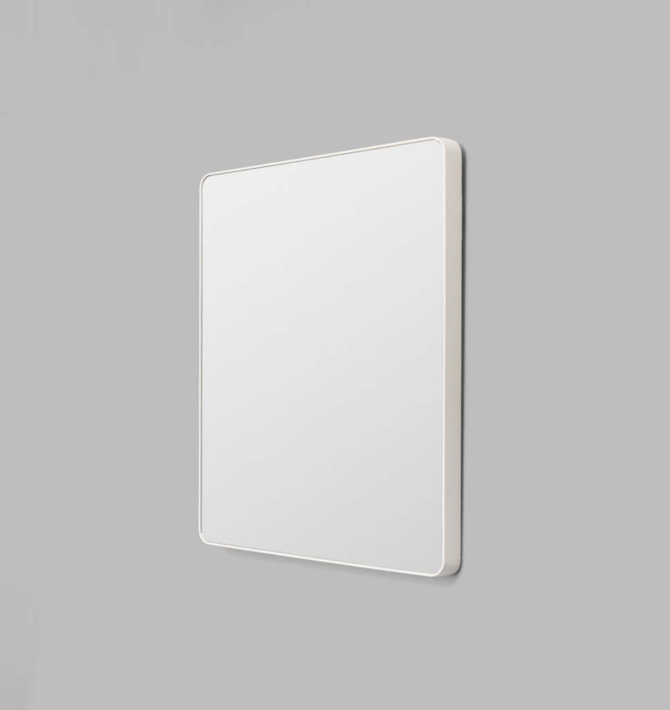 Errol Rectangle Curved | White