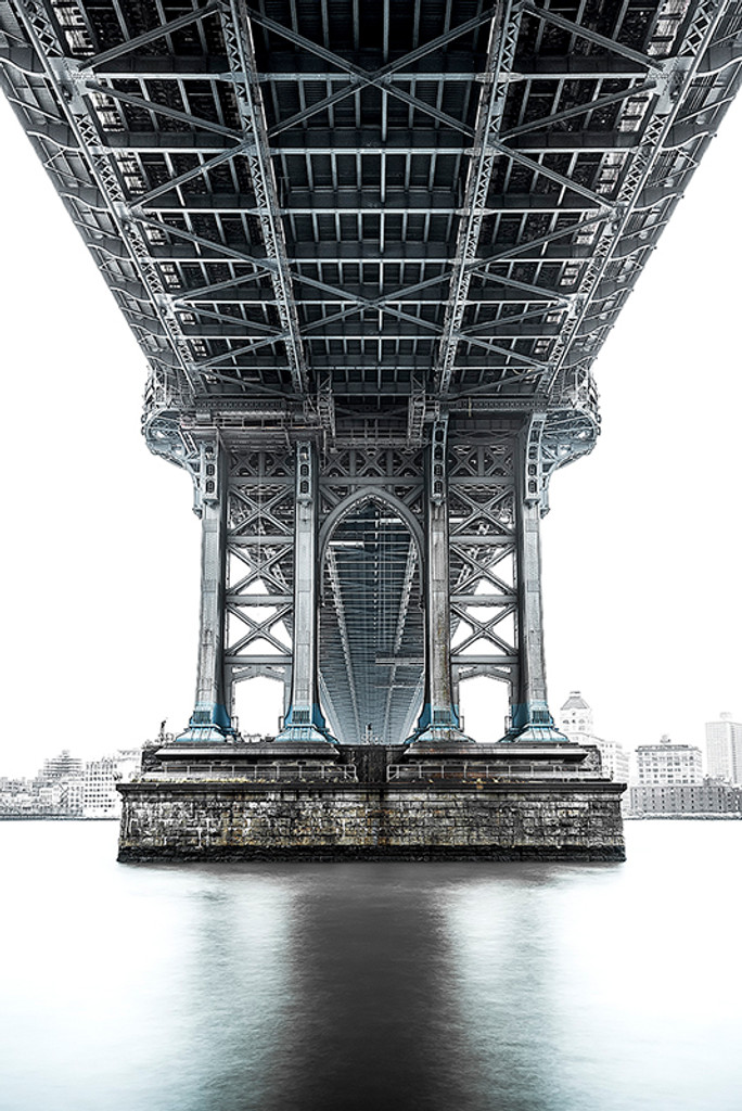 Photography  | Under Manhattan Bridge II | Nick Psomiadis