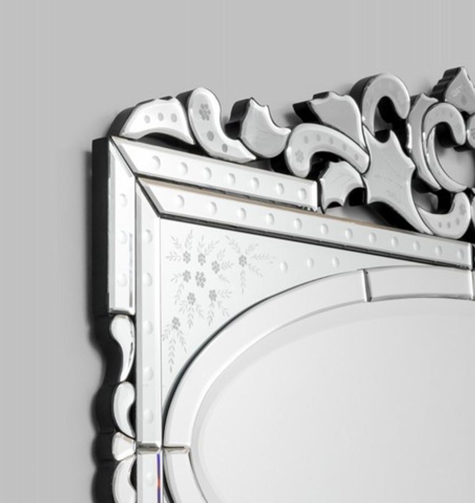 Venetian Mirror Valentina   Detail