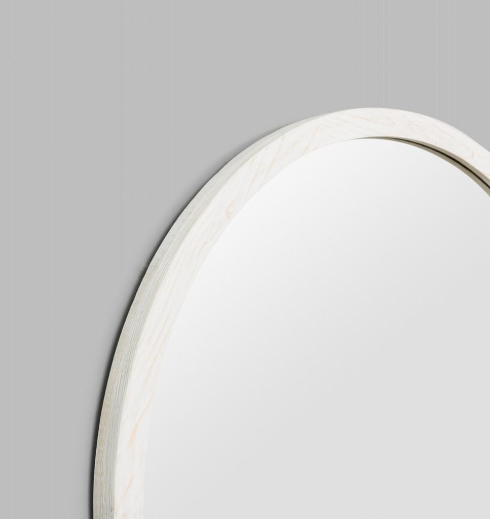 Cove  Round White | Detail