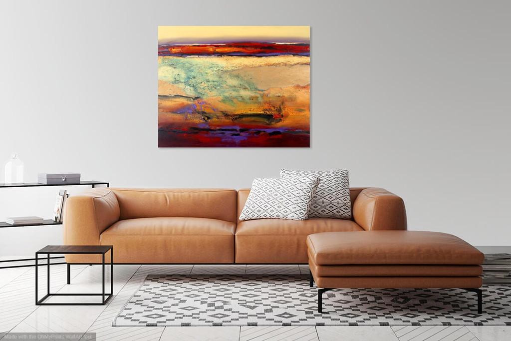 Jan Neil | Country Gold Landscape | In Situ