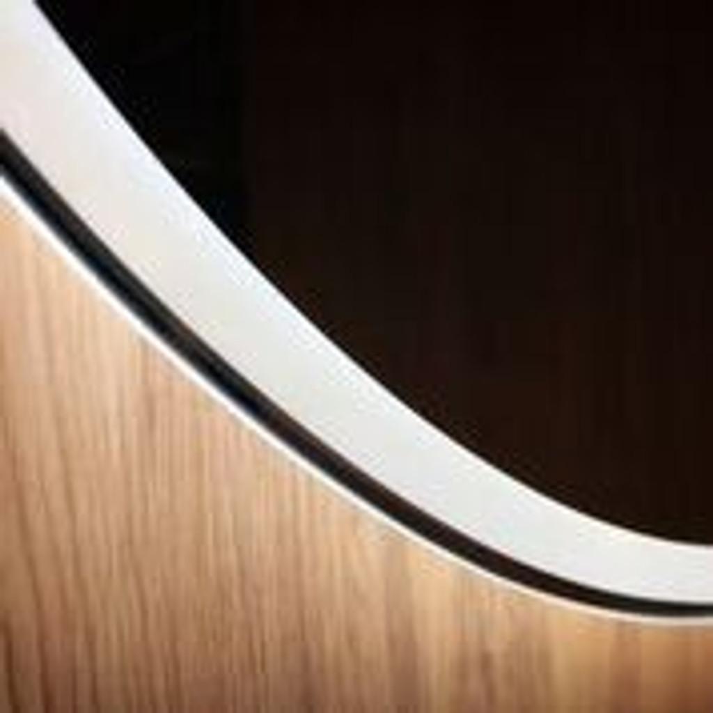 Round Backlit Mirror 80 cm, Detail