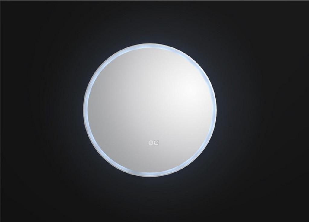 Round Backlit Mirror 80 cm.