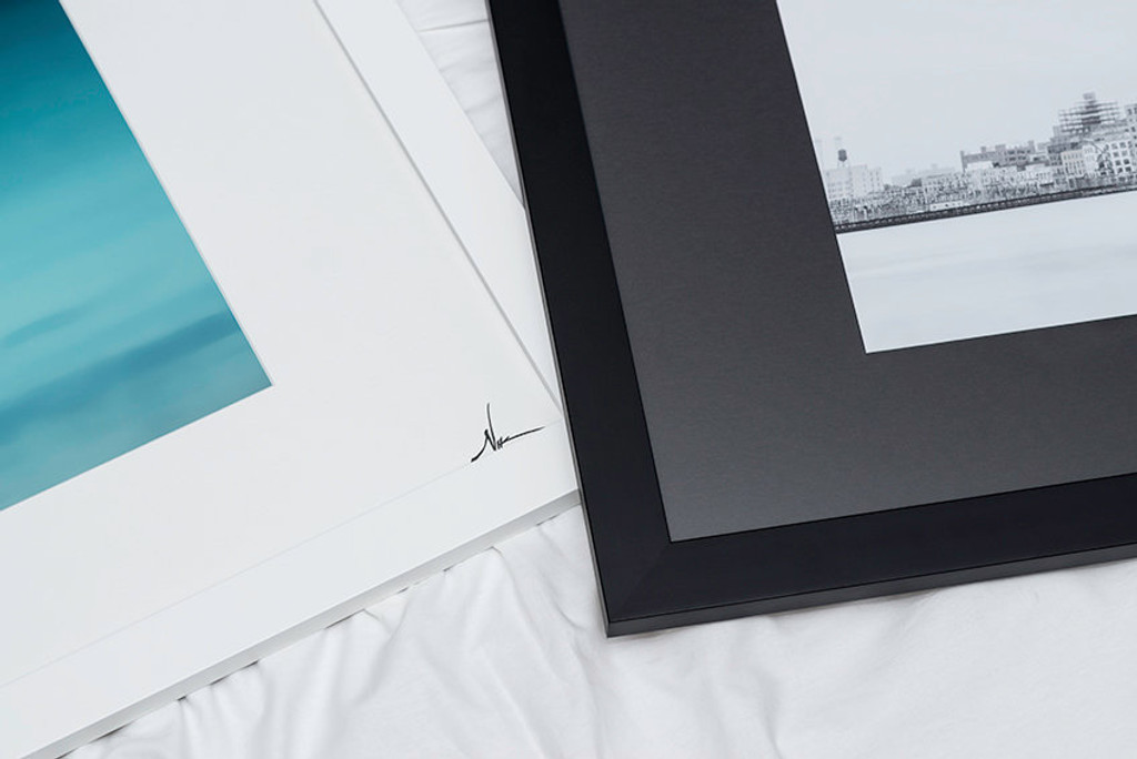 Black and White frame options