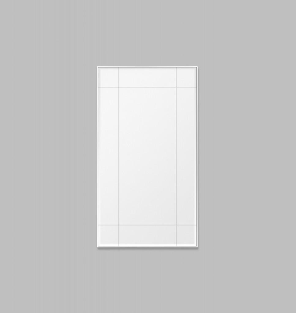 St Kilda Palour Leaner, Print Decor, Bright White