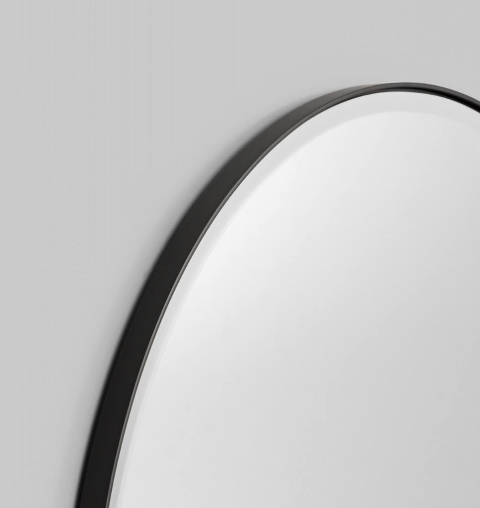 Lolita Round Black. Print Decor, Detail