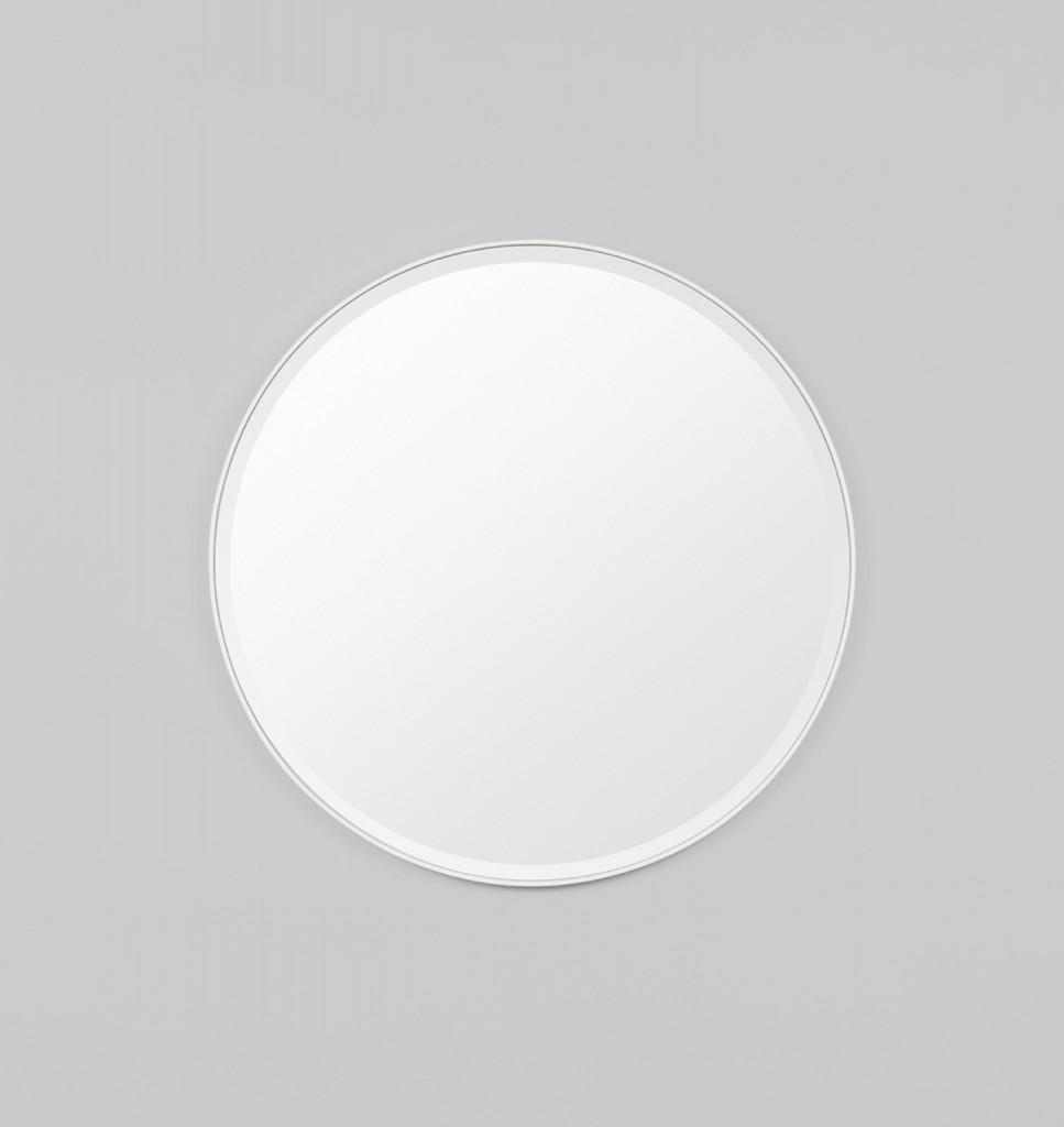 Lolita Round Bright White . Print Decor