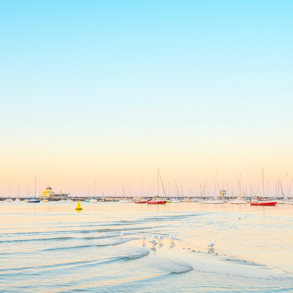 St Kilda Foreshore, by Nick Psomiadis