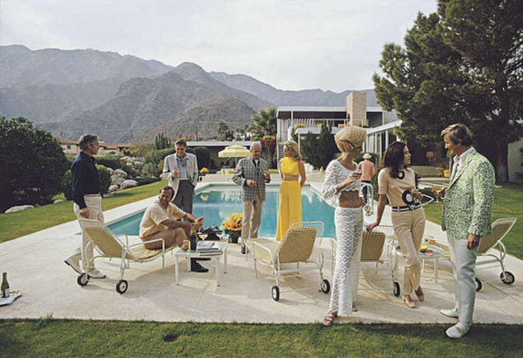 Desert House Party 2 | Slim Aarons | Print Decor