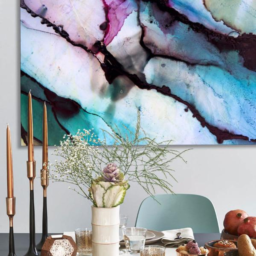 Abstract Vibrant Art in Situ | Celeste Wrona | Print Decor Melbourne