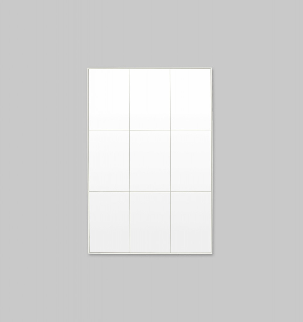 Loft Bright White Mirror | 90 x 135 cm