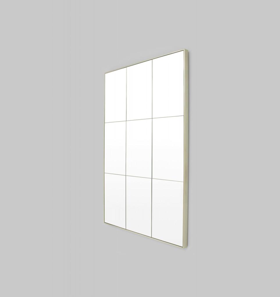 Loft Mirror Silver 135 x 90cm