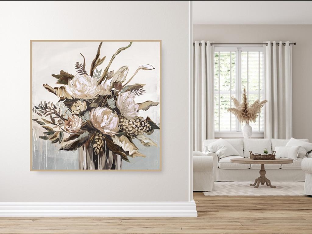 Still Life Vase Autumn | In Situ | Print Decor