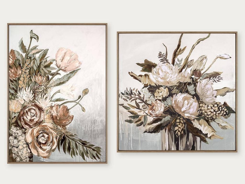 Still Life Bouquet Autumn & Still Life Vase Autumn | Print Decor