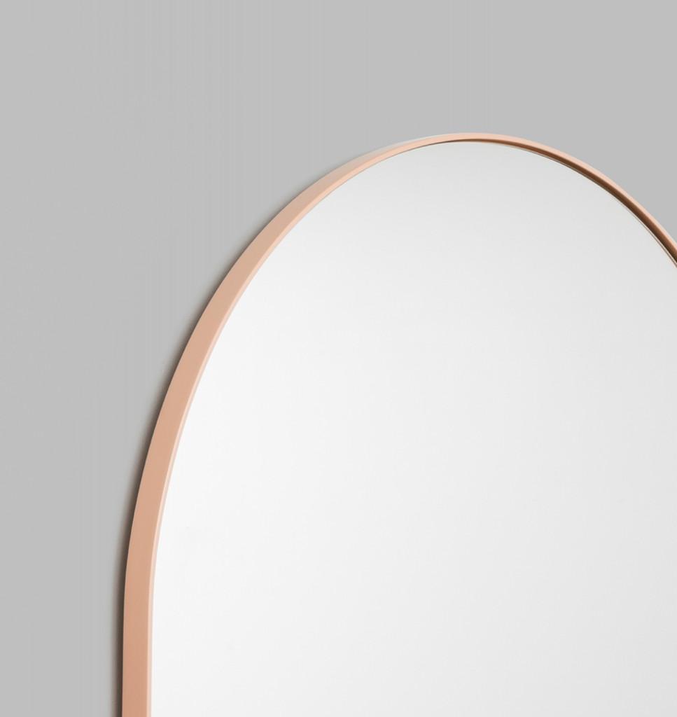 Bjorn Arch Powder Pink Mirror detail