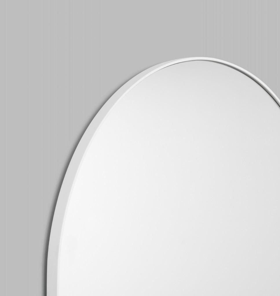 Arched Floor Leaner Mirror Bjorn - Bright White