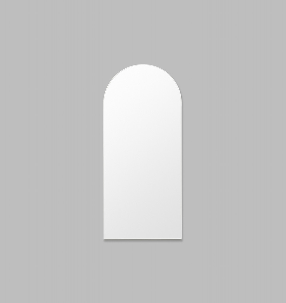 Bjorn Arch Bright White Leaner | Print Decor