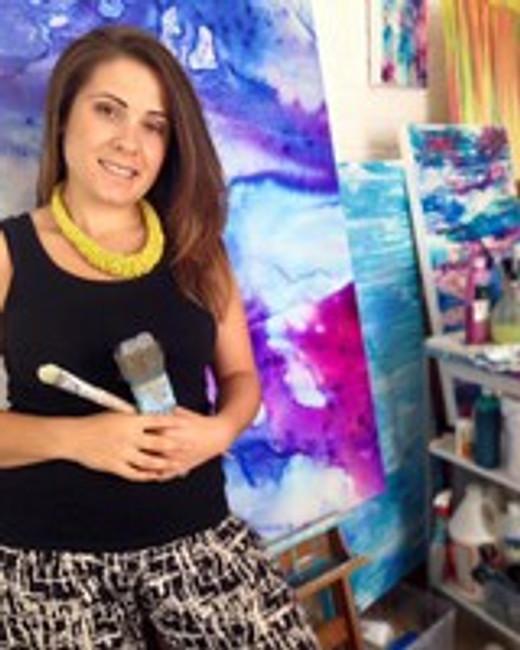 Presenting art works from Scissors Paper Brush, Celeste Wrona