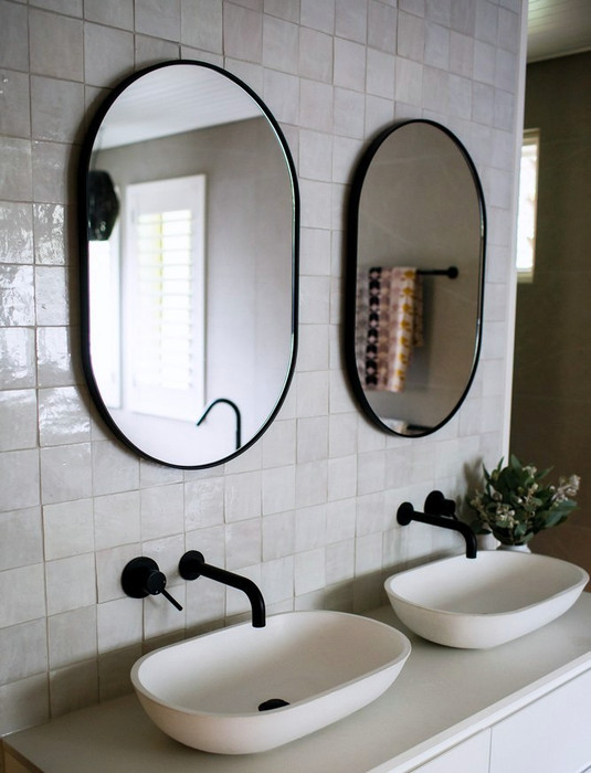 Round, Oval & Shaped Mirrors