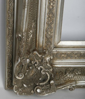 Print Décor - Grand Ornate Silver Detail