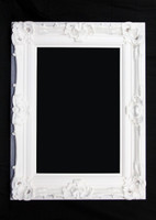 Print Décor - Grand Ornate White Frame