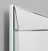 Print Decor Angle Mirror Detail