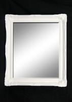 Print Décor - Contessa White Beveled Mirror