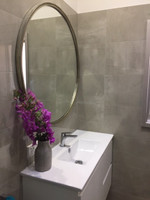 Simplicity Mirror Silver