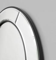 Quattro Round Mirror, detail | Print Decor