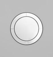 Quattro Round Mirror | Print Decor