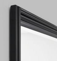 Fiona Black Leaner | Back | Print Decor | Detail