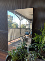 Loft Mirror Black