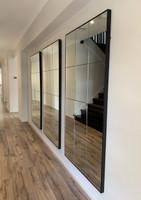 3 Loft Mirrors in a hallway