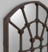 Arched Gate Mirror | Detail | Print Decor | Malvern