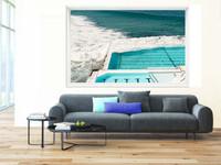 Beautiful Australian Seaside Framed Print |