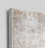 Abstract Artwork painted on canvas, detail   Litmus    Modern Melbourne Art, Print Decor